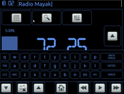 FM tuner + keyboard -> name station