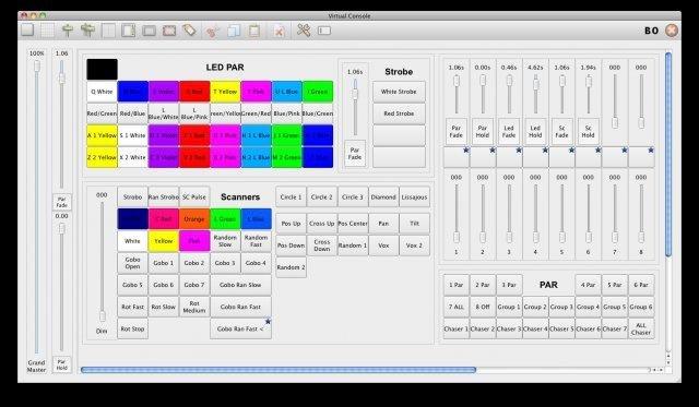 Full Q Light Controller screenshot