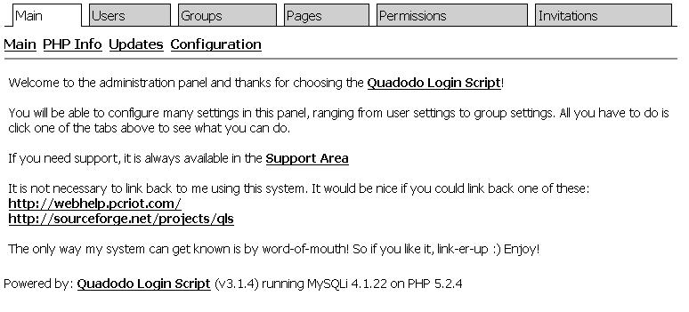 Quadodo Login Script download   SourceForge.net