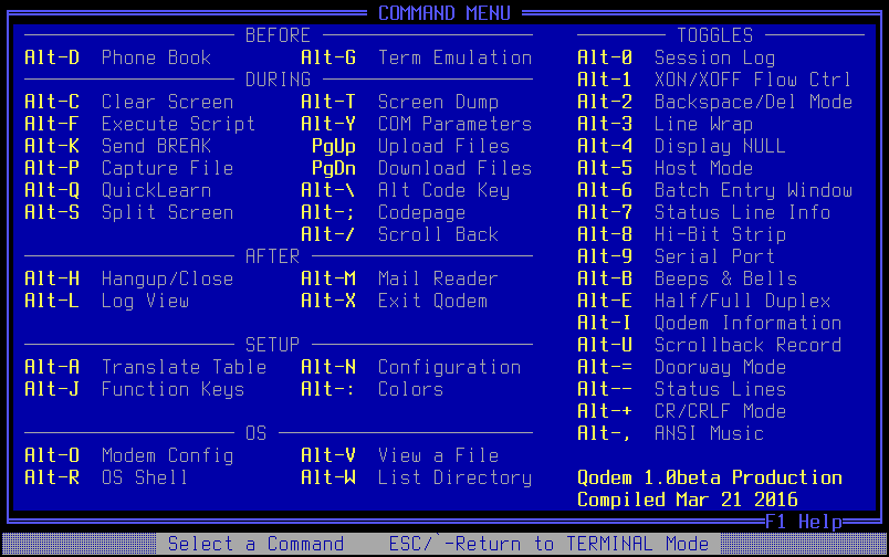 vt100 terminal emulation software windows 7