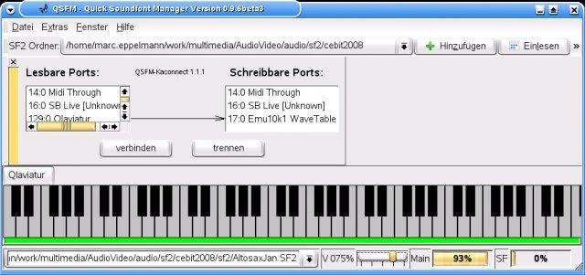 QSFM Quick Soundfont Manager download | SourceForge net
