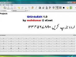 QtUrduEdit in Windows 7