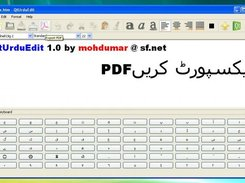 QtUrduEdit in Windows XP