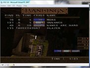 QuakeWorld running on OS/2 2.0 on Virtual PC 2007