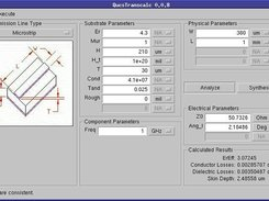qucs transmission line calculator