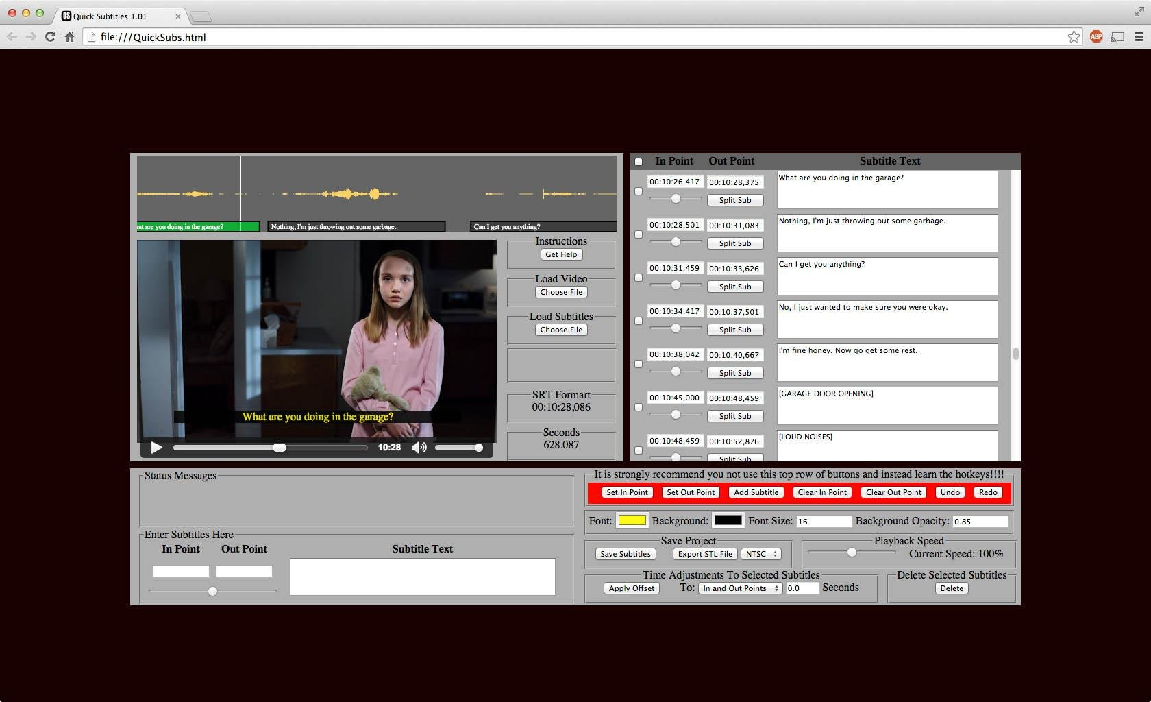 Quick Subtitles download | SourceForge net