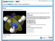 Computational Chemistry portal developed with Rapid
