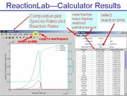 Results of kinetic calculations: PFR with GRI-Mech 3.0