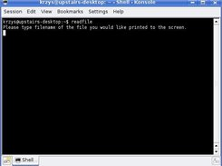 readfile at filwname prompt