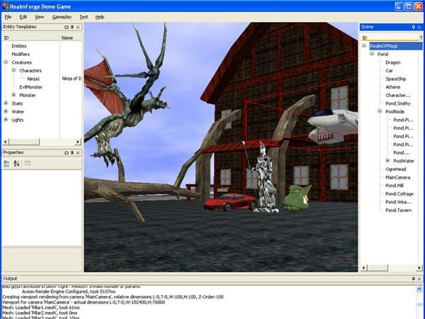 free  3d game making software for pc