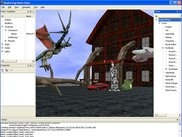 The first cut of the In-Game Editor, a VS.NET-like toolset
