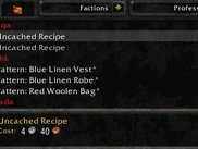 'Uncached Recipe' means you haven't seen the recipe yet.