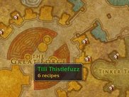 Vendors will also show up on the world map.