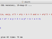 CSL Reduce in a Unicode Shell on Mac OSX