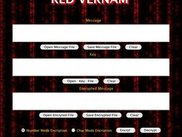 Red Vernam user interface.