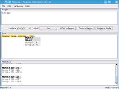 RegAxe - Regular Expression Tester download   SourceForge net