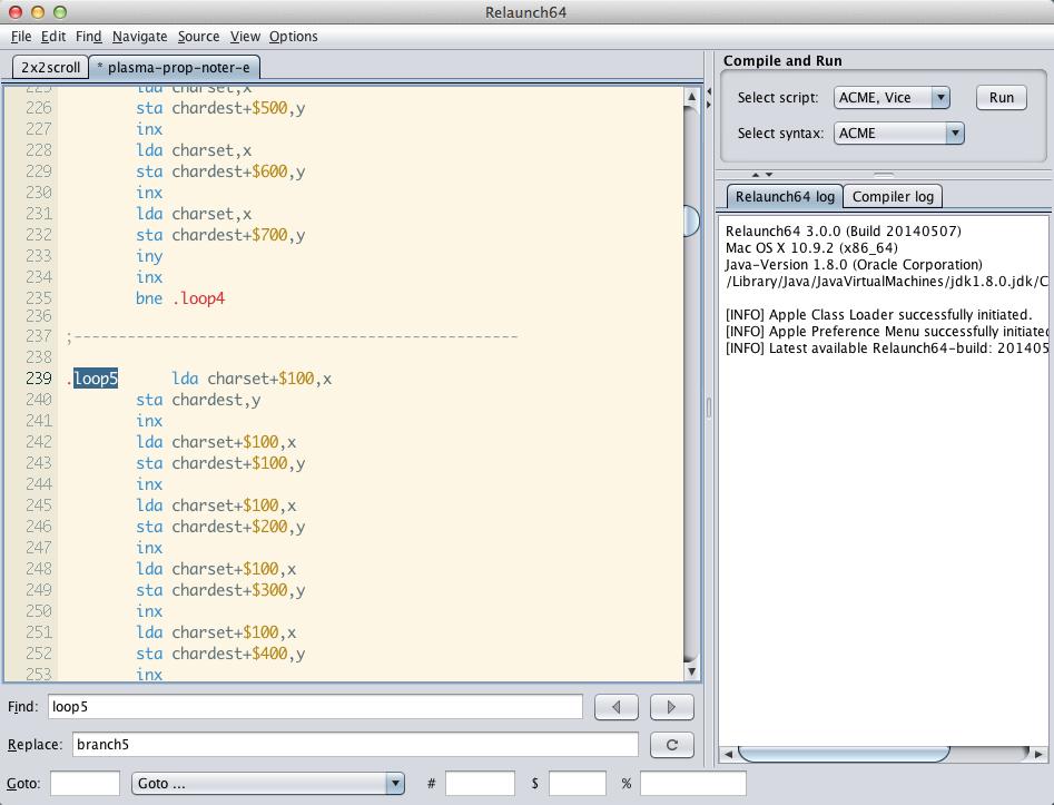 Acme editor mac