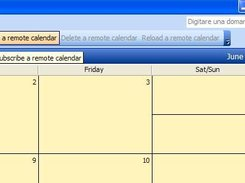English version of RemoteCalendars