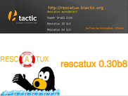 Rescatux Boot Screen
