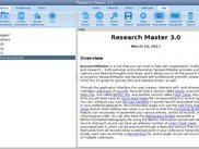Research Master 3.0, March 16 2011
