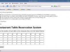 Restaurant Table Reservation System Download SourceForgenet - Table reservation system