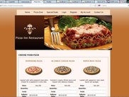 Pizza Products Page
