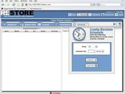 RESTORE Create Revision Schedule from Filestore Panel