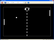 Retro Pong .NET main window
