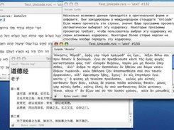 Unicode resource editor