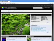 Home page overview