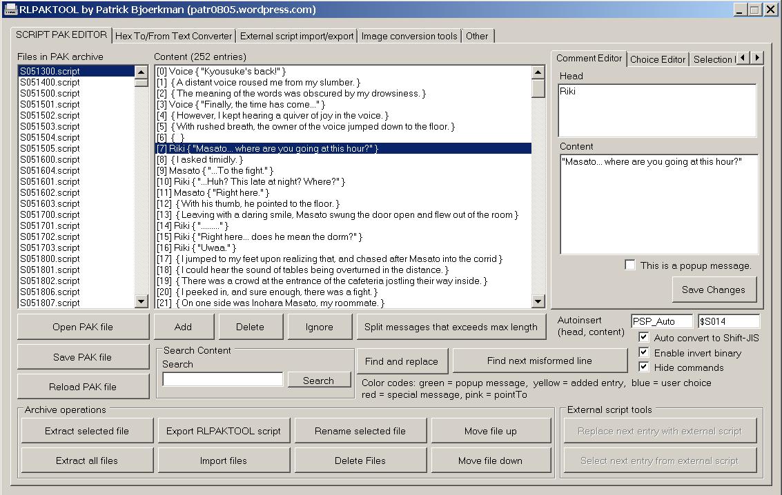 Real Life Engine PAK editor download | SourceForge net