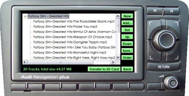RNS-E MP3 Manager download   SourceForge net
