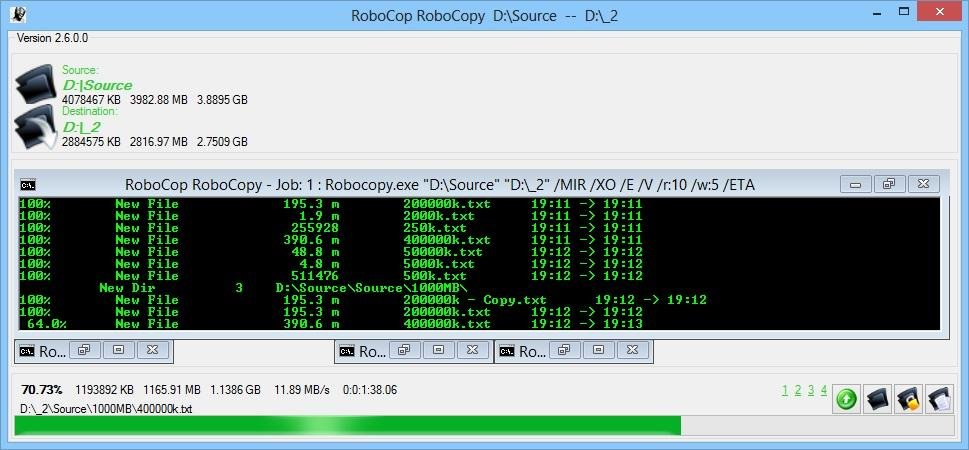 RoboCop RoboCopy download | SourceForge net
