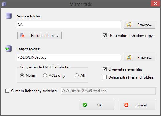RoboMirror download | SourceForge net