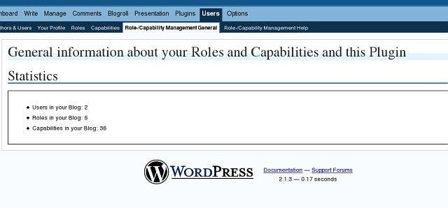 WordPress Role Manager download | SourceForge net