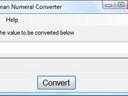 Roman Numeral Converter Main Screen