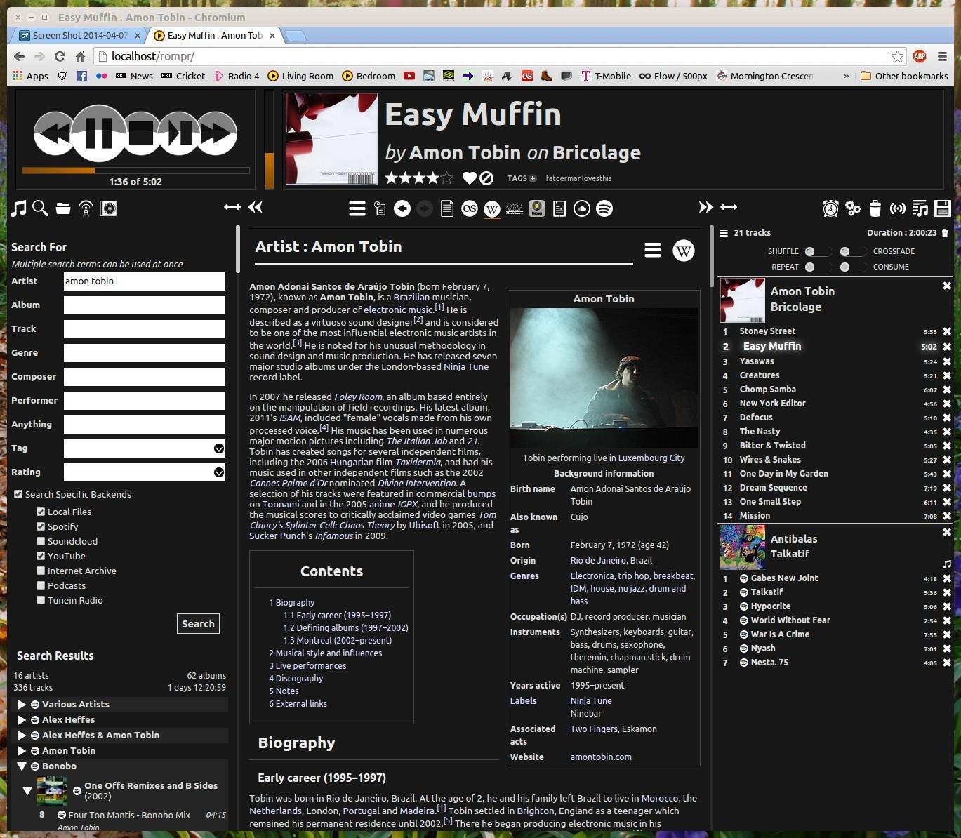 Rompr download | SourceForge.net