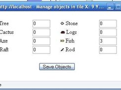 Object manager for selected tile.