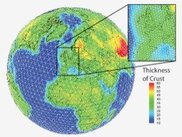 The RSTT model is defined on a global tessellation mesh.