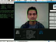 RTFTR in action (single face present in the input video)