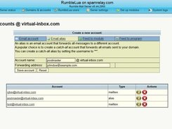 Rumble Mail Server download | SourceForge net