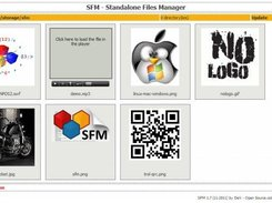 SFM - 5 - Pic-Manager (multimedia) screen