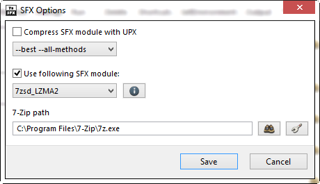 7z SFX Builder download | SourceForge net