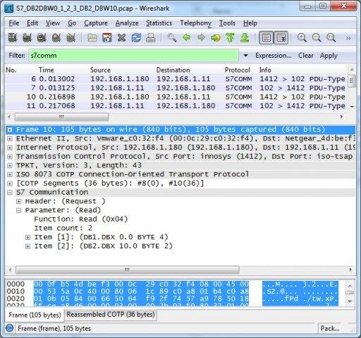 S7comm Wireshark dissector plugin download | SourceForge net