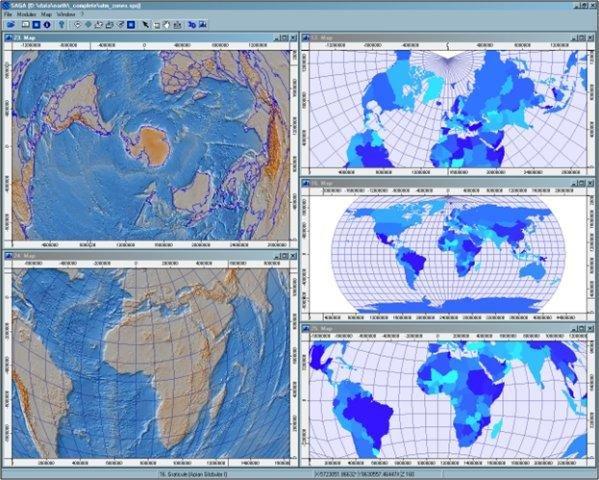 SAGA GIS download | SourceForge net