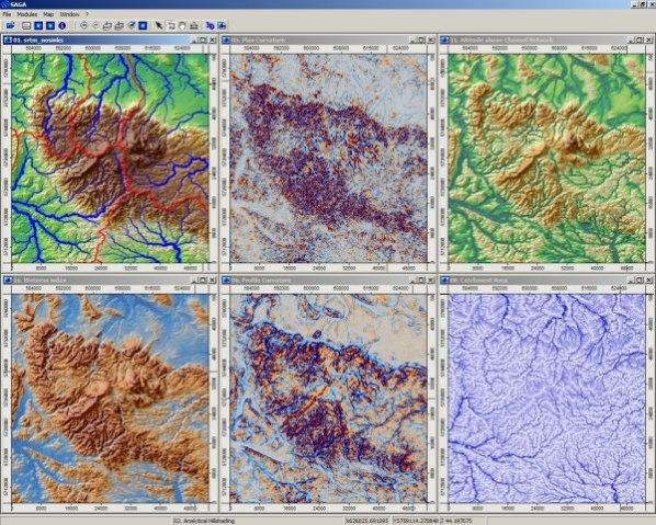 SAGA GIS download   SourceForge net
