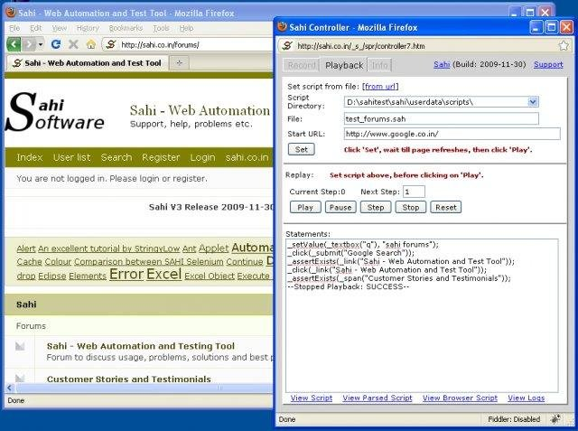 Sahi - Web Automation and Test Tool download | SourceForge net