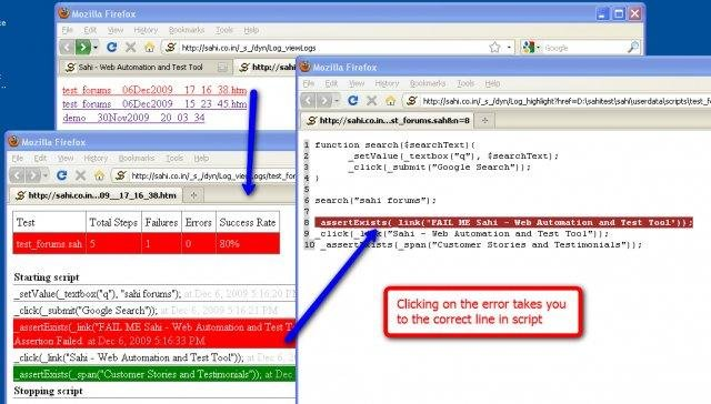 Sahi - Web Automation and Test Tool download   SourceForge net