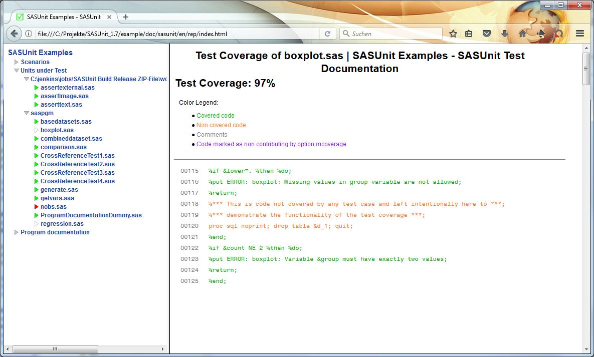 SASUnit download   SourceForge net