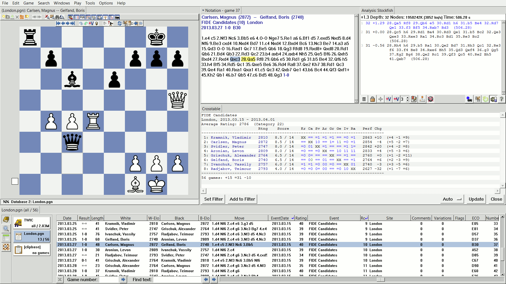Scid chess database download.